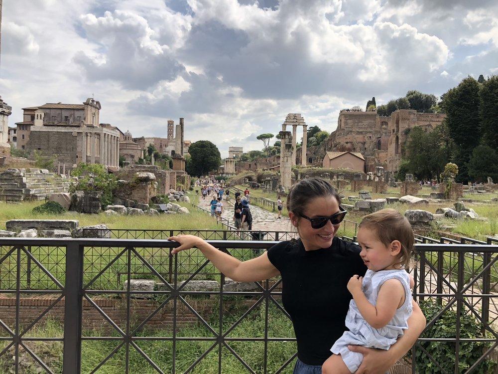 Jenny and Simone in Rome