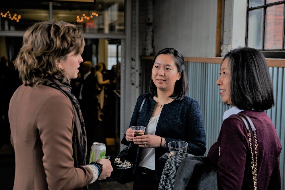 Utako at AIA Cleveland's Women in Architecture annual celebration. Photo by John Biliboaca.