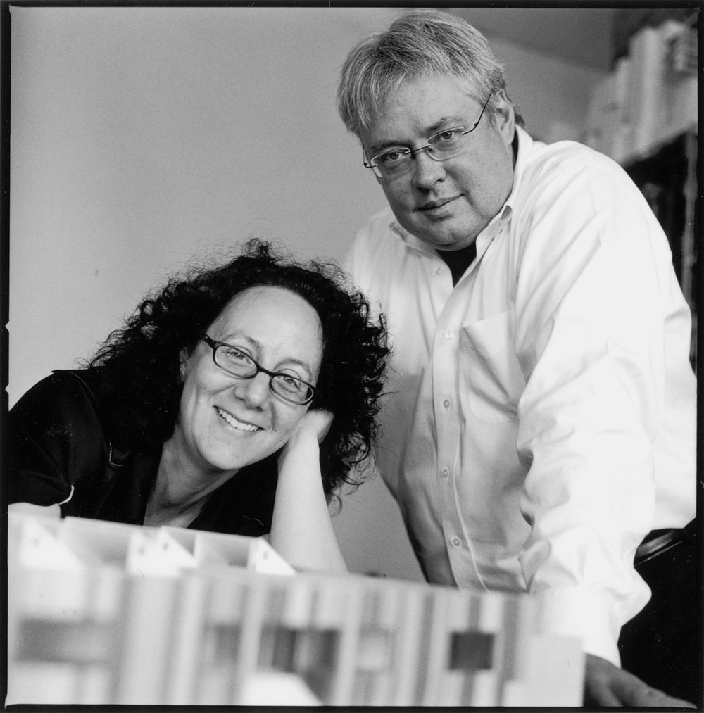 Claire and Mark in 2006, photography by Paul Warchol