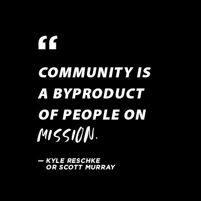 We may not know who *actually* said this quote, but listen in on our latest episode for some great thoughts about community, dating, marriage, desert islands. You name it - we discuss it!