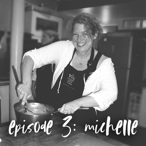 Episode 3 is LIVE and our guest is the incredible Michelle Hogan. If you've ever eaten a meal at Wheaton Bible Church, she probably cooked it. She is so funny and we loved chatting with her about what true hospitality looks like. Check it out! Subscribe by clicking link in bio.
