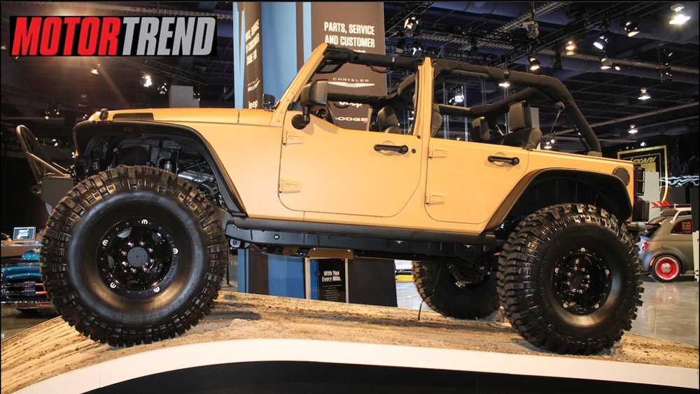 Jeep Wrangler Sand Trooper - MOTORTREND