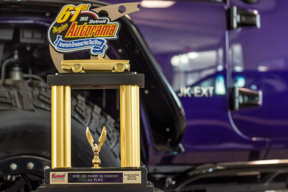 THE 61ST Annual Detroit Autorama Truck Winner