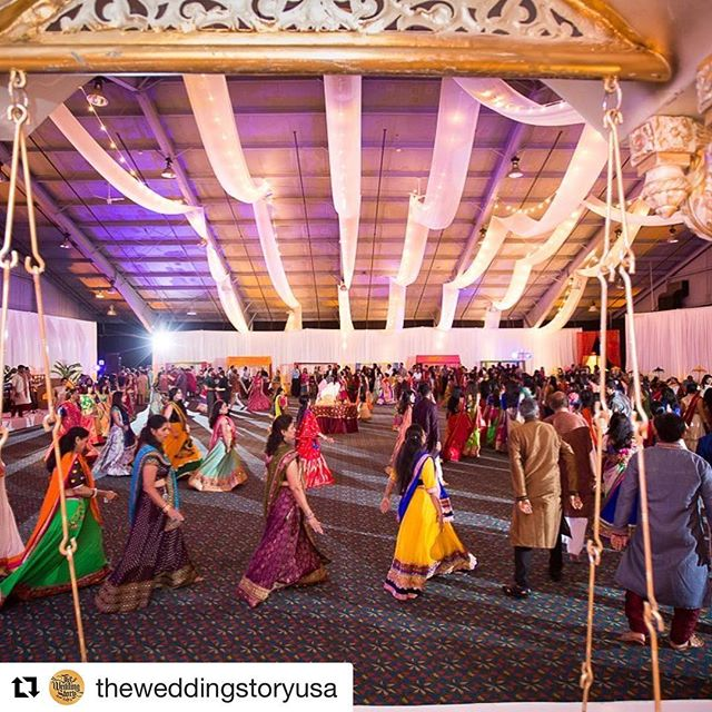 We have the perfect space for your wedding weekend! 📸: @theweddingstoryusa . . . . #indianweddings #garba #boxbororegency
