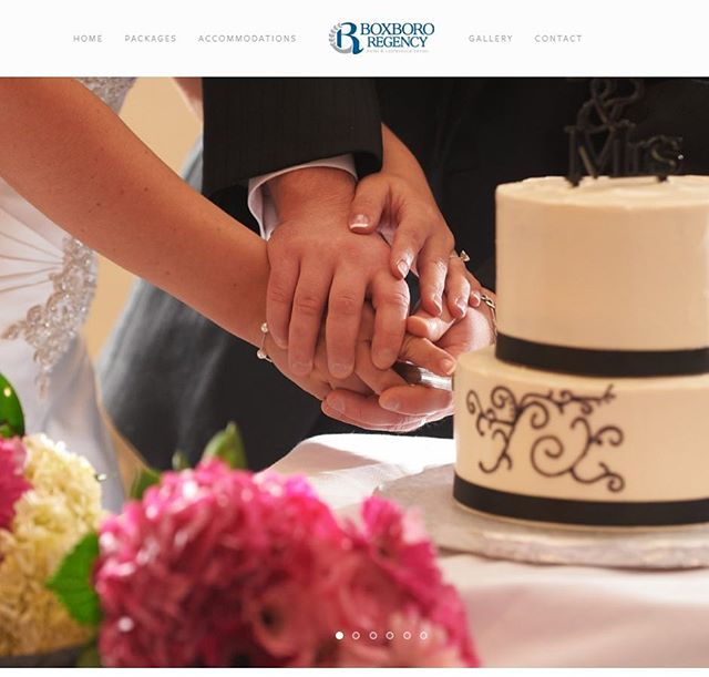 Check out our new wedding website! boxboroweddings.com