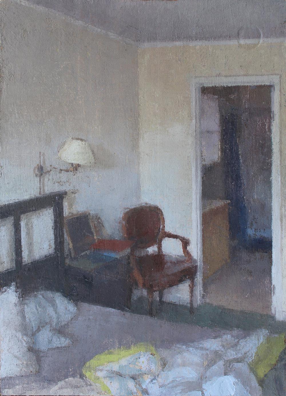 Bedroom Late Afternoon, 10%22x7.5%22.JPG