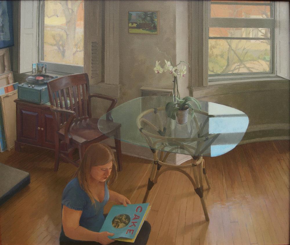 Riesmeyer, Daniel, The Album, Oil on Canvas, 36%22x42%22.JPG