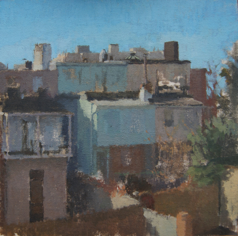 Morning Light, Oil on Musling on Panel, 8%22x8%22.JPG