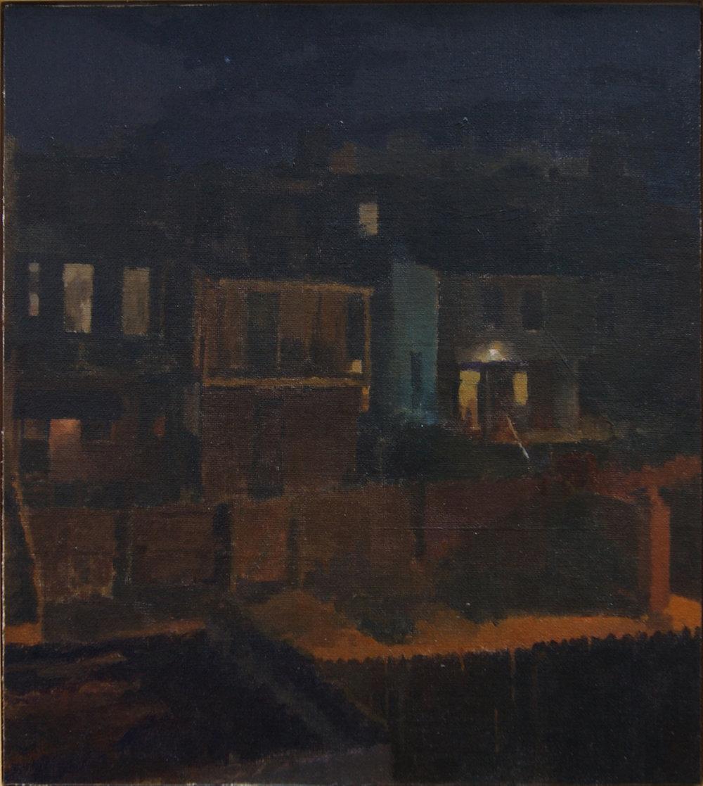 The Night Sky, Oil on Linen on Panel, 10%22x11.5%22.JPG