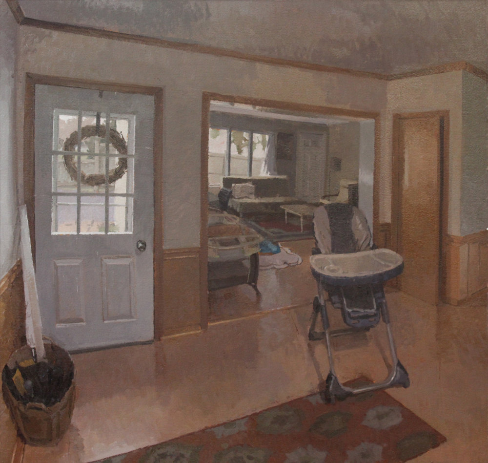Interior, Cloudy Day, Oil on Paper, 20%22x22%22.JPG