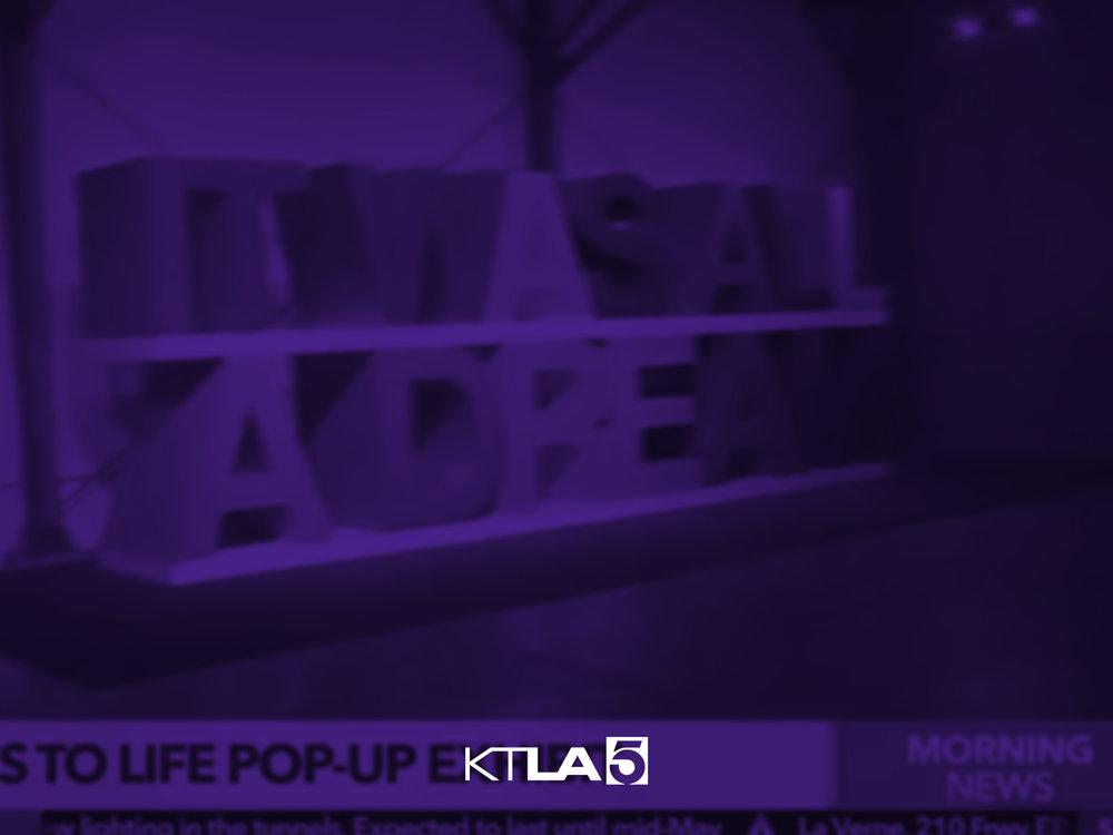 Lyrics to Life Pop-Up Exhibit -