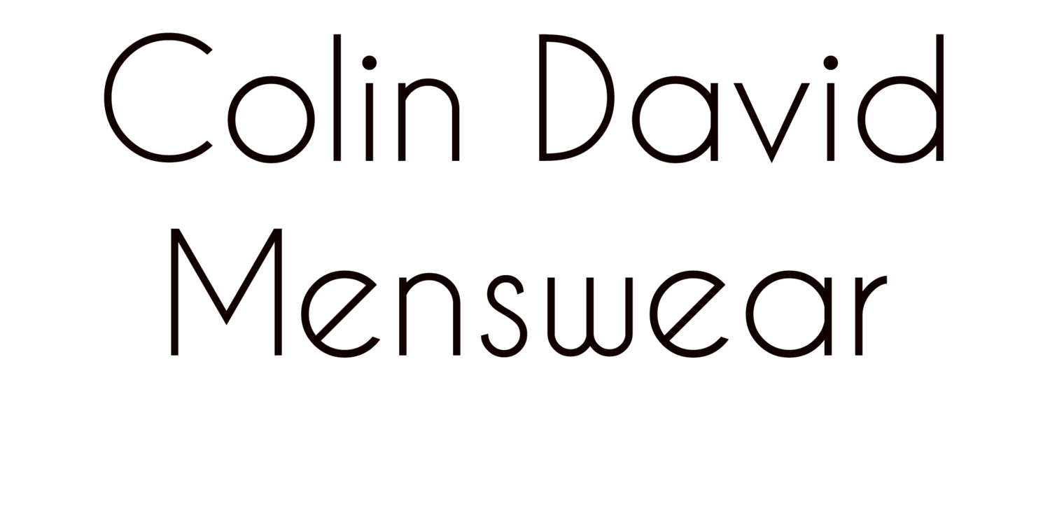 Colin David Menswear
