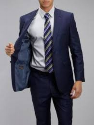 Baumler Navy mens suit