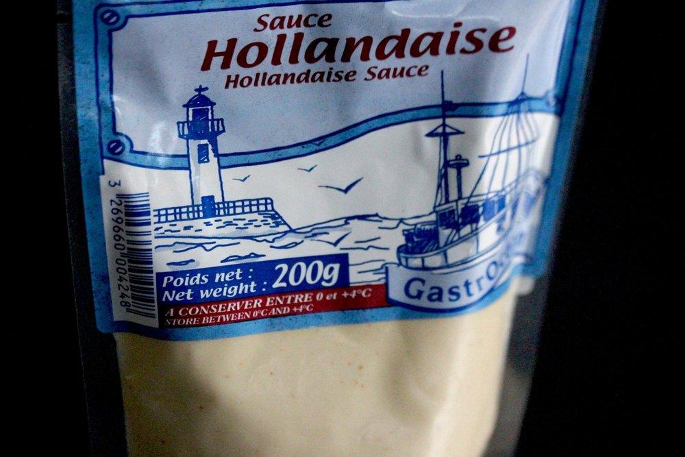 Hollandaise sauce