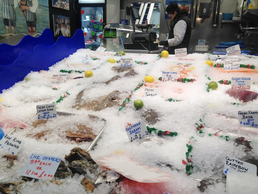 Luckily there is a fabulous range of fresh fish and seafood in stock today to photograph.