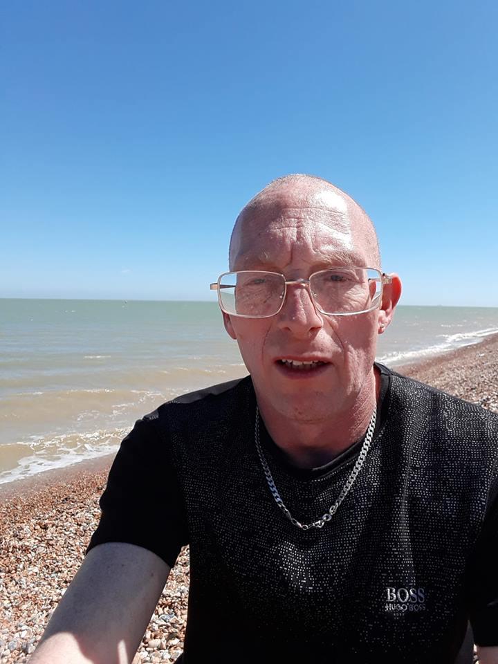 Seafront selfie by Derek Barnes