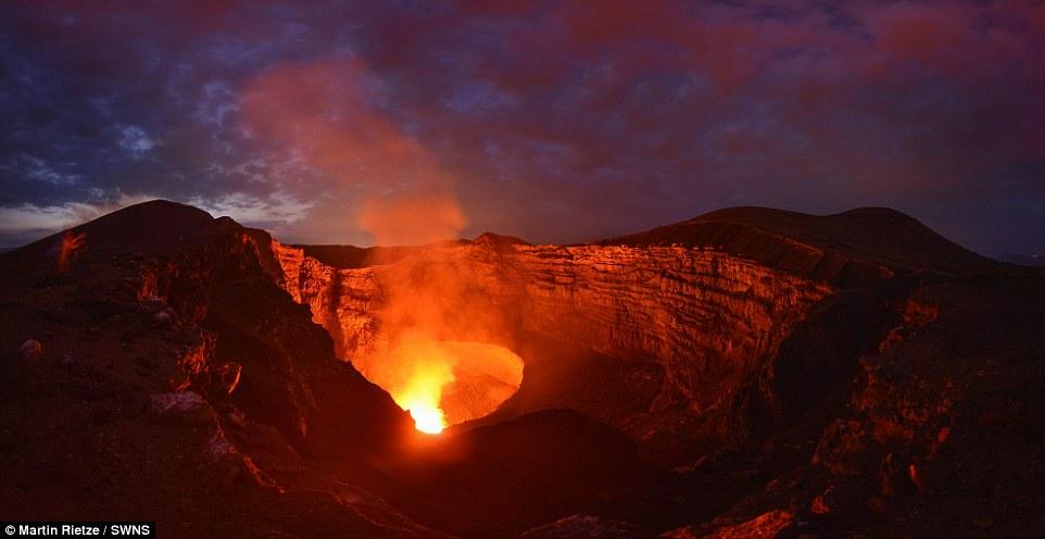 View the Volcan de Masaya