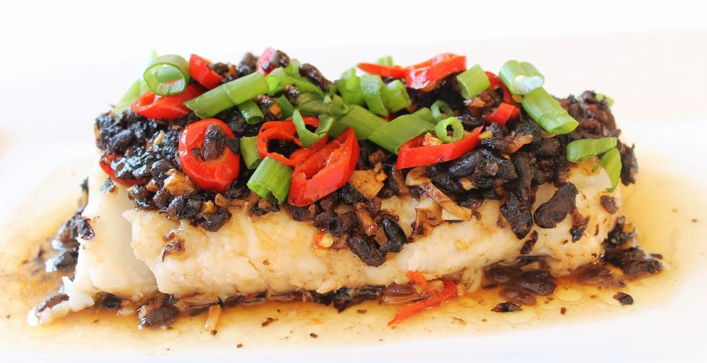 Black Bean Steamed Cod - The Im-PULSE-able Black Bean
