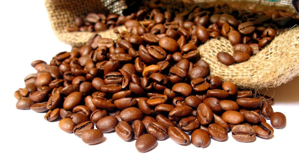 Coffee - Among the 103 species of coffee identified, Coffea arabica (arabica) and Coffea canephora (robusta) produce 99% of the coffee consumed (4). Arabica coffee, the most predominant in North America, is low in bitterness, low in caffeine content and makes up 60% of coffee produced worldwide (4). There are three different types of coffee roasts - light, medium and dark. Caffeine is found in over 60 plants including cola nuts and cocoa pods (4). The concentration of this potent stimulant varies depending on the type of product, processing, agricultural practices, and environmental factors such as time of year(4). Each 8 oz. cup of coffee contains between 95 - 330 mg of caffeine.