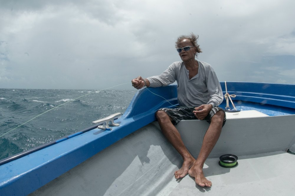 FISHERMAN, PALAU CREDIT: THE OCEAN AGENCY