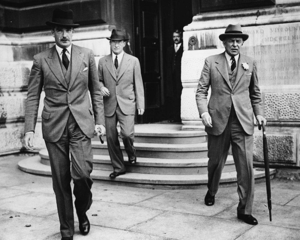 anthony eden - politics and british style — notch lapels