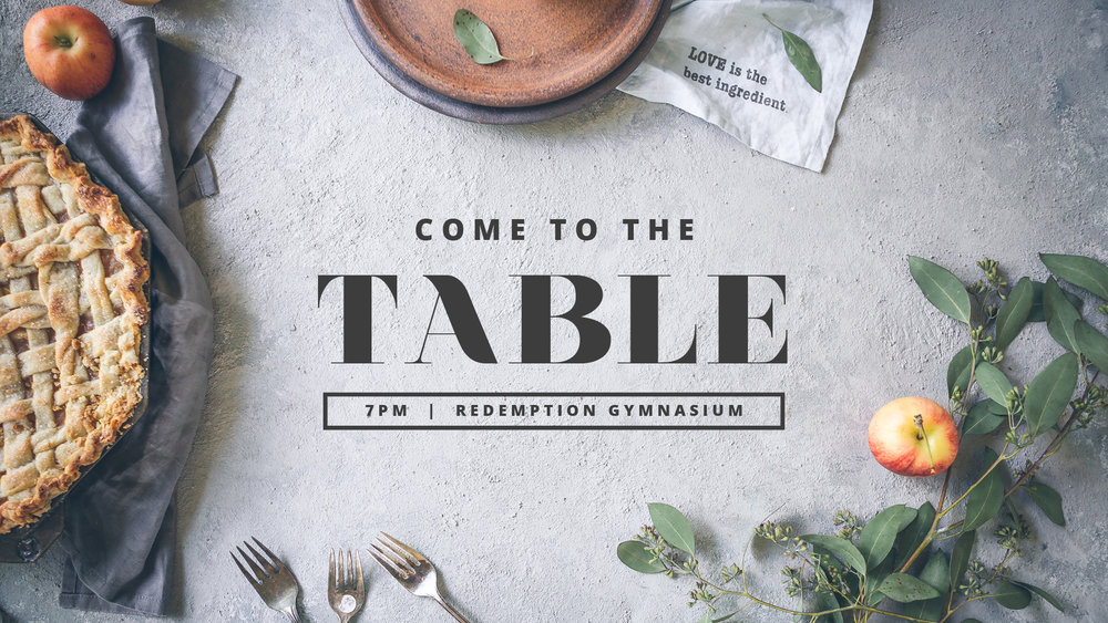 CometotheTable