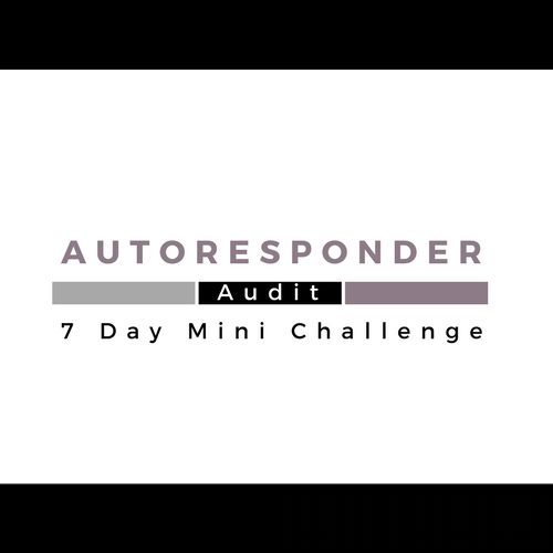 Want some quick & easy Website Tweaks for your website? - Join me in the 7 Day Autoresponder Mini Challenge. By the end of it, you will know exactly what's working on your website, what's not working and how to fix it.