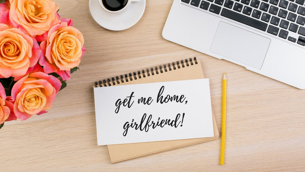 Get Me Home, Girlfriend! - This 3-module video course gives you all the tools to plan your ideal work-at-home career. We cover business models, finances, how to set up your schedule, and so much more.