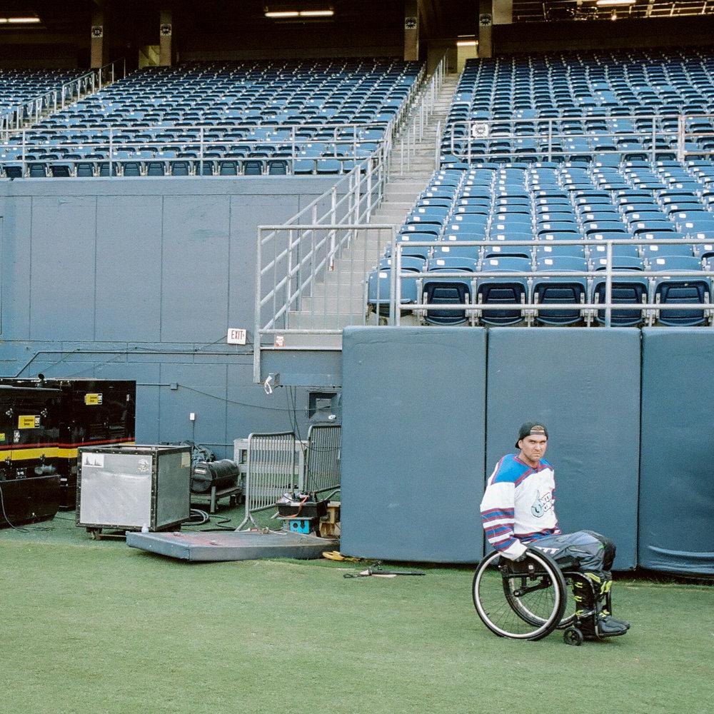 Paraplegic Motorcross Legend Bruce Cook