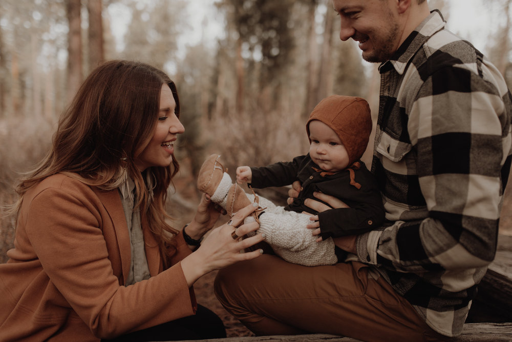 bend family session