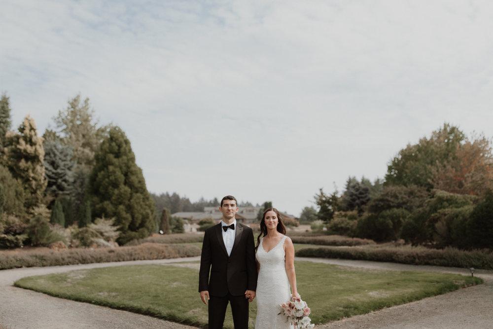 oregon garden wedding