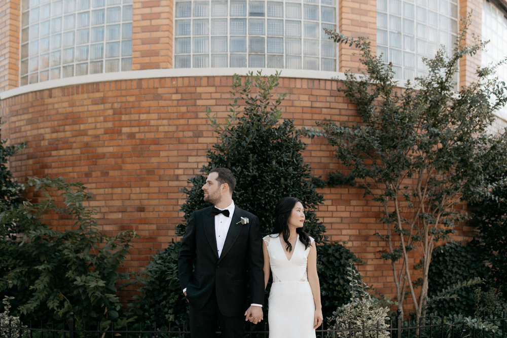Brooklyn rooftop wedding at box house hotel