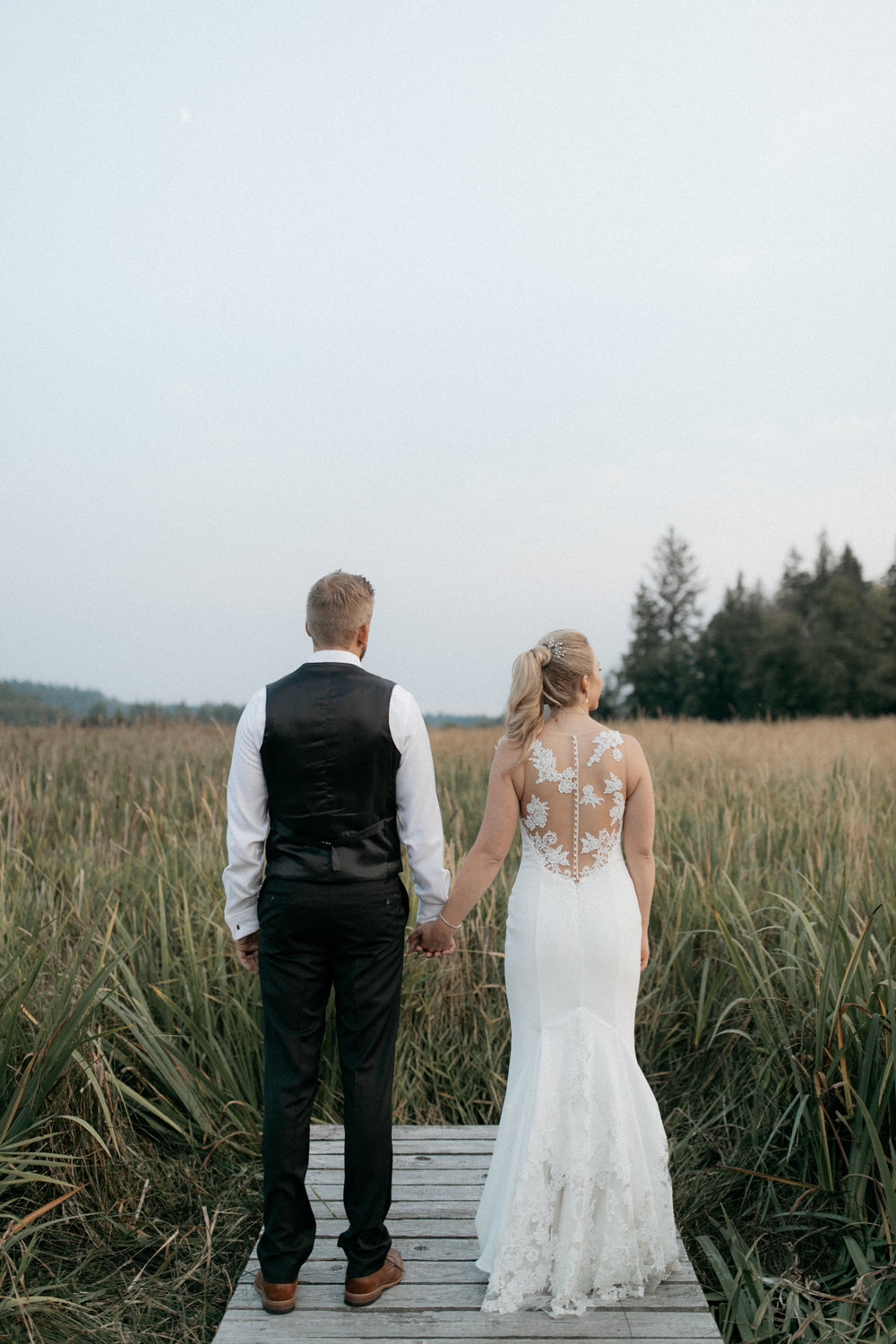 whidbey island wedding at fireseed catering