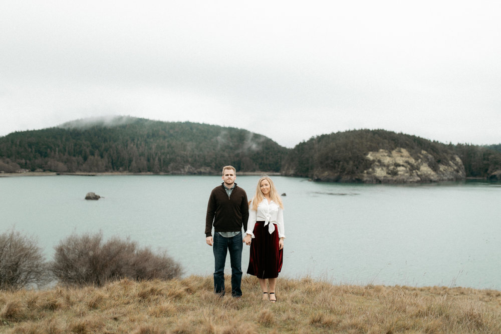 Whidbey island engagement session