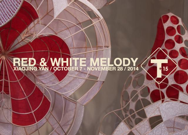 Red & White Melody   Xioajing Yang   October 7 to November