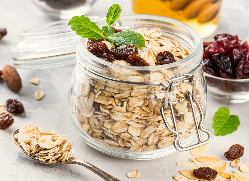 OVERNIGHT OATMEAL - Natural oats with a combination of organic maple and brown sugar!
