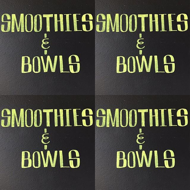 Smoothies and bowls and juices, oh my!