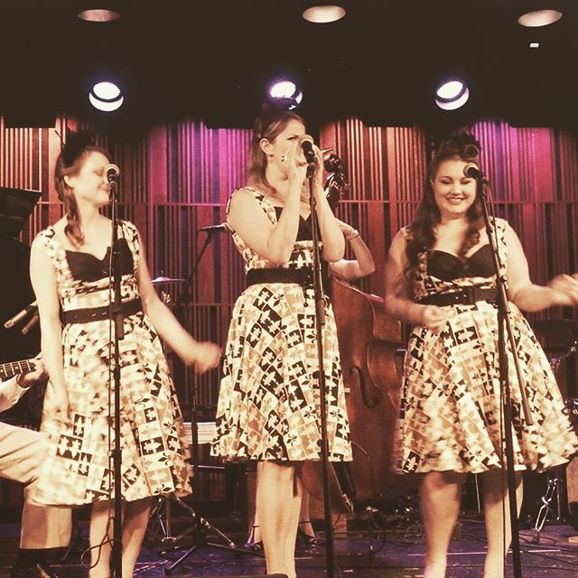 Only one more sleep until you can catch the ladies of Company B at the @libraroom with the one and only @deanedwardthiessen on keys! 9:30-11:30!  psssst... if you can't make it down, we'll be live streaming our first set on our Instagram story :) #livemusic #livejazz #livemusicvancouver #supportlivemusic #supportlocalbands #hotjazz #swing #vintagejazz #lindyhop #libraroom #commercialdrive #threepartharmony #vocaljazz #jazzvocalists #singsingsing #vancouverevents #vancouverisawesome #womeninjazz #ladiesofjazz #andrewssisters #boswellsisters