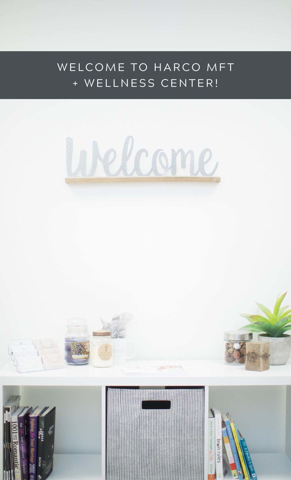 Welcome to HarCo MFT + Wellness Center