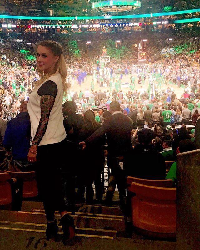 Home for the holidays 💚☘️ #celtics #boston #bostonceltics #tdgarden