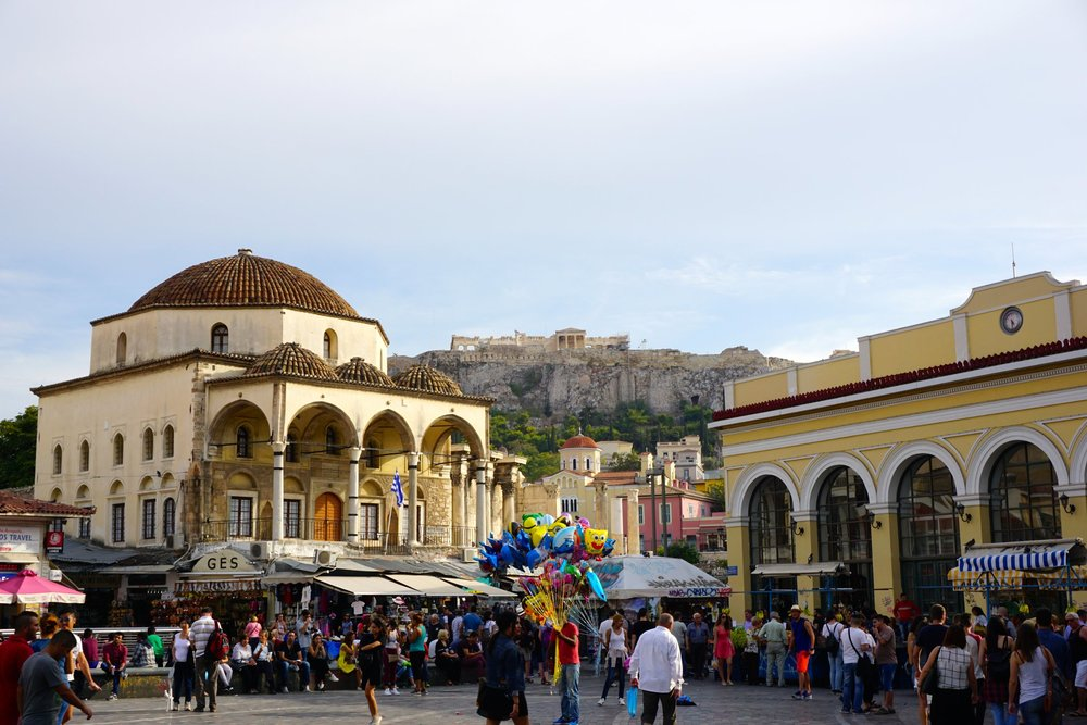 Athens, Greece ft. the acropolis.