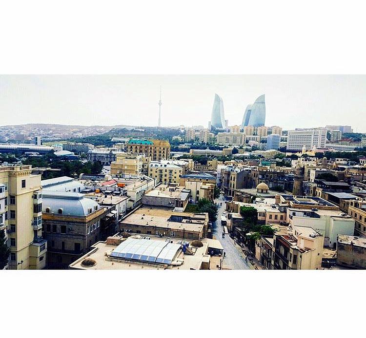 Baku, Azerbaijan. Photocred: Nelly.