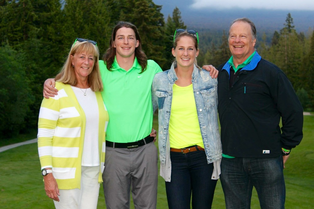 My wonderful family at the CR Memorial Golf Tournament last weekend.