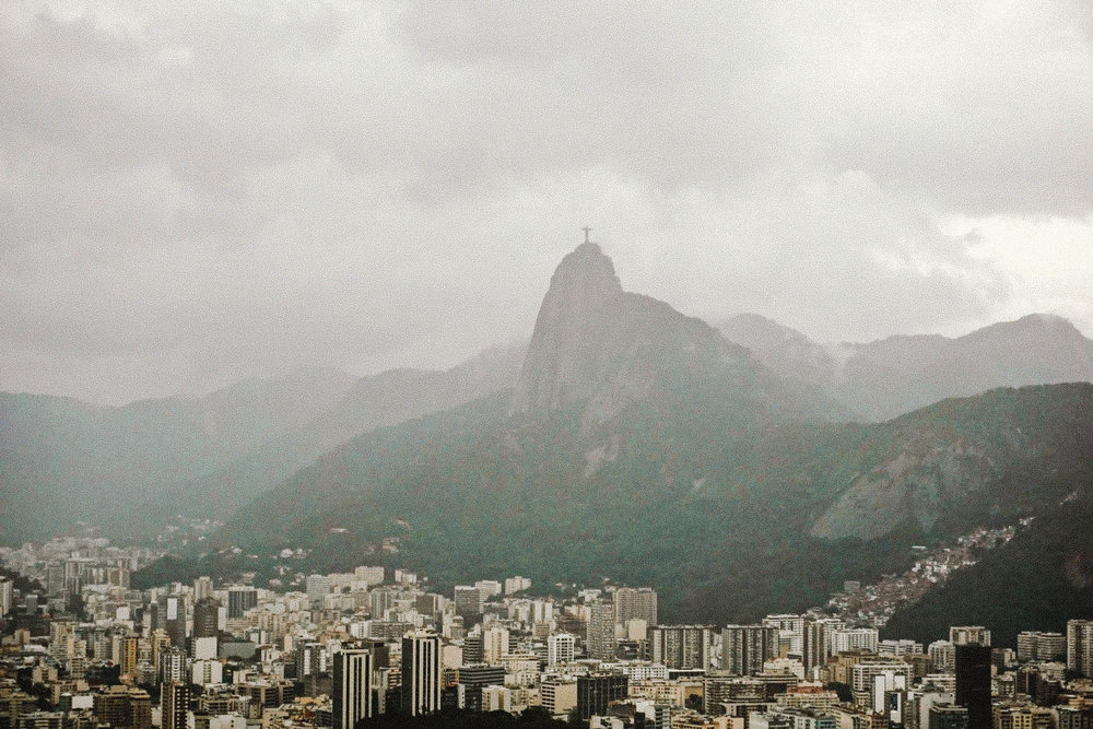 I spy Christ the Redeemer.