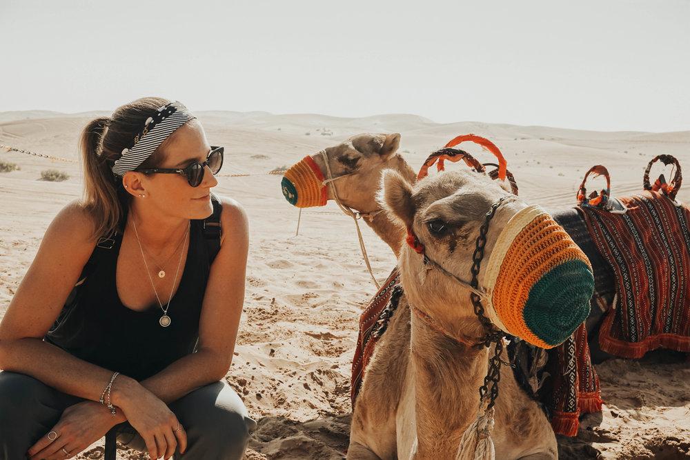 Desert Safari in Abu Dhabi / #camelrides #abudhabi #UAE
