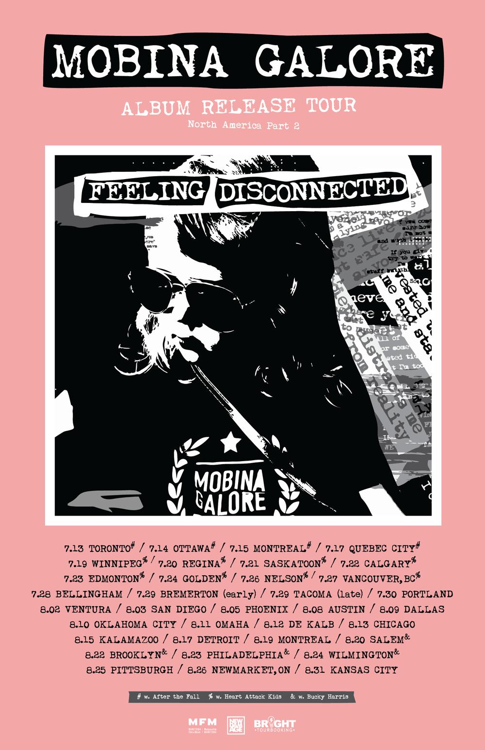 Tour Poster Dates