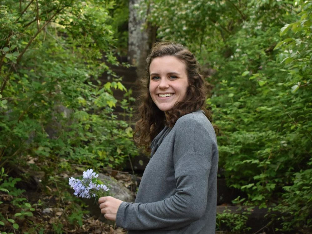 Caroline McKissick, the 2019 recipient of the Harold Snyder Fellowship, is completing her senior year at Covenant College in Lookout Mountain, Georgia.