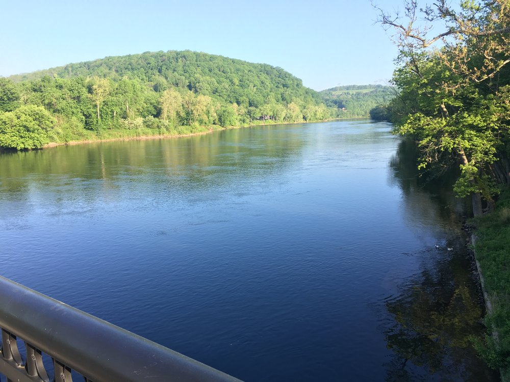 Day 3 Mile 50 The Delaware River