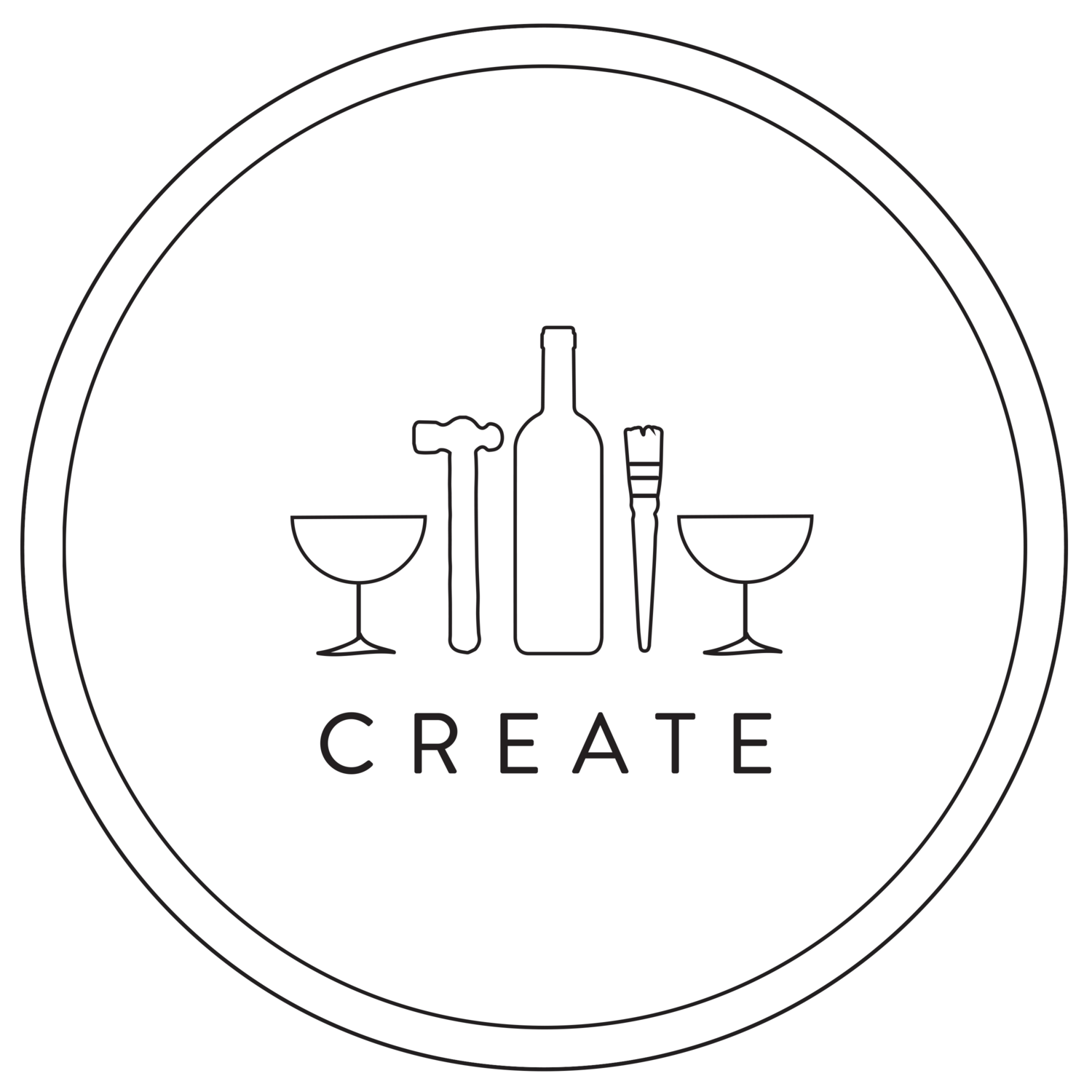 CREATE art bar