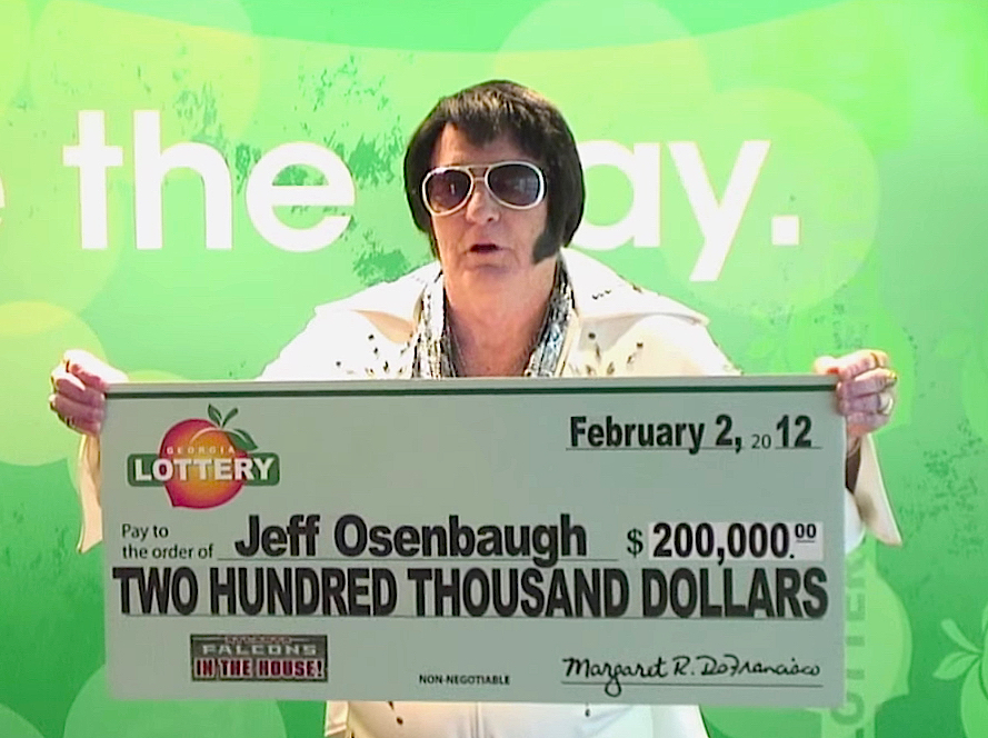 One For The Money! Elvis Impersonator Wins $200,000 Lottery Dream